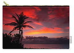 Oceanfront Sunrise Carry-all Pouch