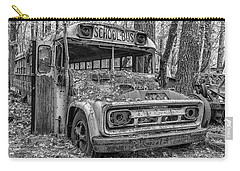 Old School Bus Carry-all Pouch