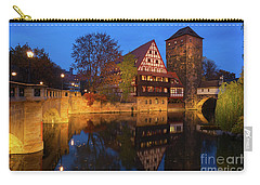 Nuremberg At Night Carry-all Pouch