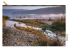 One Autumn Day At Ognyanovo Dam Carry-all Pouch by Jivko Nakev