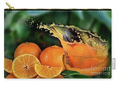 Orange Splash Carry-all Pouch