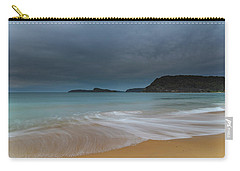 Overcast Cloudy Sunrise Seascape Carry-all Pouch