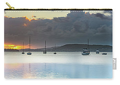 Overcast Sunrise Waterscape Carry-all Pouch