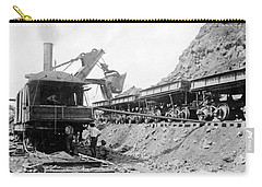 Panama Canal - Construction - C 1910 Carry-all Pouch