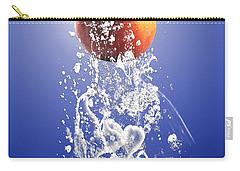 Peach Splash Carry-all Pouch