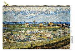 Peach Trees In Blossom Carry-all Pouch