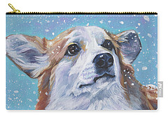 Pembroke Welsh Corgi Carry-all Pouch by Lee Ann Shepard