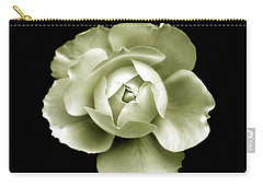 Carry-all Pouch featuring the photograph Peony by Charles Harden