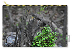 Carry-all Pouch featuring the photograph Persistence by Skip Willits