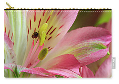 Peruvian Lilies In Bloom Carry-all Pouch