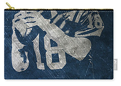 Peyton Manning Colts Carry-all Pouch by Joe Hamilton