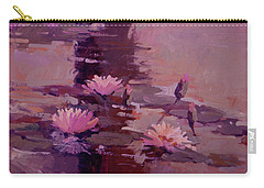 Pond Blossoms - Water Lilies Carry-all Pouch