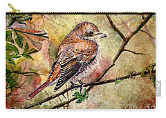 Red Backed Shrike Carry-all Pouch