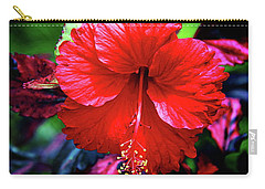 Red Hibiscus 2 Carry-all Pouch