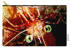Red Night Shrimp Carry-all Pouch