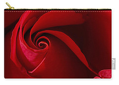 Red Rose Iv Carry-all Pouch