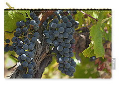 Carry-all Pouch featuring the photograph Red Vines by Ulrich Schade
