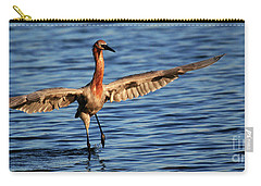Reddish Egret Ocean Carry-all Pouch