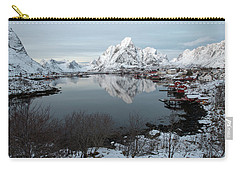Carry-all Pouch featuring the photograph Reine, Lofoten 4 by Dubi Roman