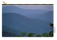 Roan Mountain Sunset Carry-all Pouch by Serge Skiba