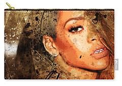 Robyn Rihanna Fenty - Rihanna Carry-all Pouch by Sir Josef - Social Critic - ART