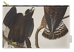 Rough-legged Falcon Carry-all Pouch by John James Audubon