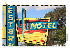 Route 66 - Western Motel Carry-all Pouch