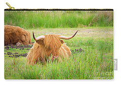 Carry-all Pouch featuring the photograph Scotland by Milena Boeva