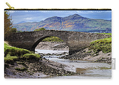 Carry-all Pouch featuring the photograph Scottish Scenery by Jeremy Lavender Photography
