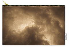 Sepia Clouds Carry-all Pouch