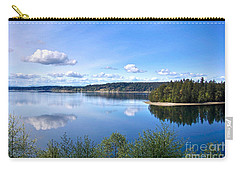 Carry-all Pouch featuring the photograph Serenity by Sean Griffin