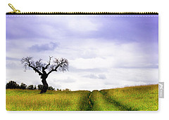 Carry-all Pouch featuring the photograph Side By Side by Edgar Laureano