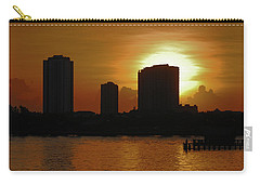 Carry-all Pouch featuring the photograph 2- Singer Island by Joseph Keane