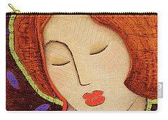Carry-all Pouch featuring the painting Soul Memory by Gloria Rothrock