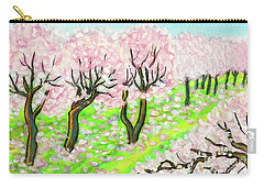 Spring Garden, Painting Carry-all Pouch by Irina Afonskaya