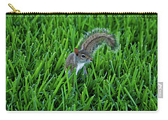 Carry-all Pouch featuring the photograph 2- Squirrel by Joseph Keane
