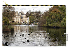 St James Park Carry-all Pouch by Shirley Mitchell