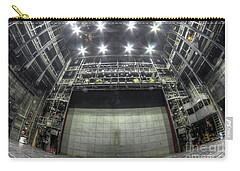 Carry-all Pouch featuring the photograph Stage In The Abandoned Theatre by Michal Boubin