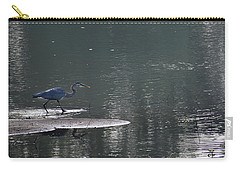 Carry-all Pouch featuring the photograph Stalker  by Skip Willits