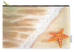 Starfish Vacation Carry-all Pouch