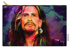 Steven Tyler Carry-all Pouch by Elena Kosvincheva