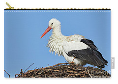 Stork On A Nest Carry-all Pouch