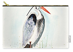 Jenifer's Friend - George #3 Carry-all Pouch by Sam Sidders