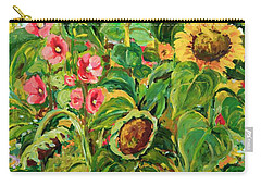 Sunflowers Carry-all Pouch by Alexandra Maria Ethlyn Cheshire