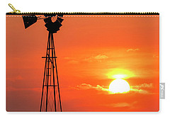 Sunrise And Windmill 02 Carry-all Pouch