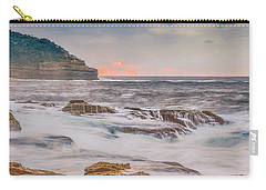 Sunrise Seascape And Headland Carry-all Pouch