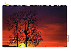 Carry-all Pouch featuring the photograph Sunset by Bess Hamiti