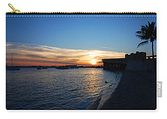Carry-all Pouch featuring the photograph 2- Sunset In Paradise by Joseph Keane