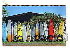 Surfboard Fence Maui Hawaii Carry-all Pouch