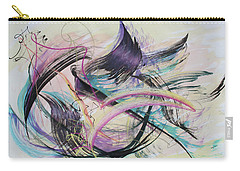 Taking Flight Carry-all Pouch by Asha Carolyn Young